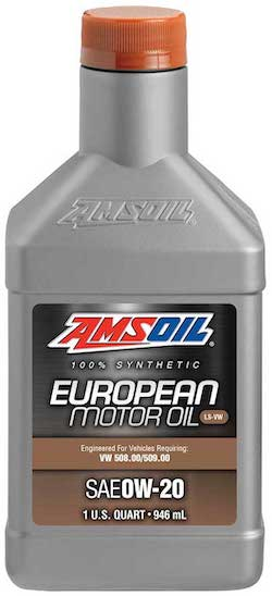 SAE 0W-20 LS-VW Synthetic European Motor Oil